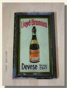 Werbung zum Lloyd-Brunnen